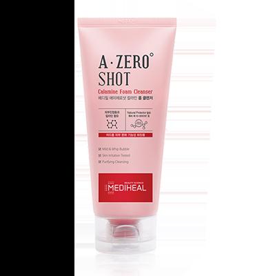 MEDIHEAL A-zero Shot Calamine Foam Cleanser