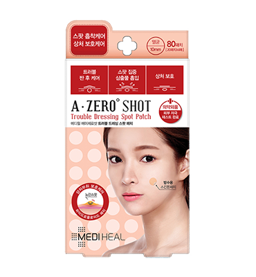 MEDIHEAL A-zero Shot Trouble Dressing Spot Patch