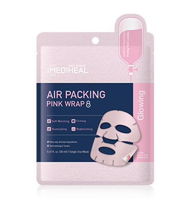 MEDIHEAL Air Packing Pink Wrap Mask
