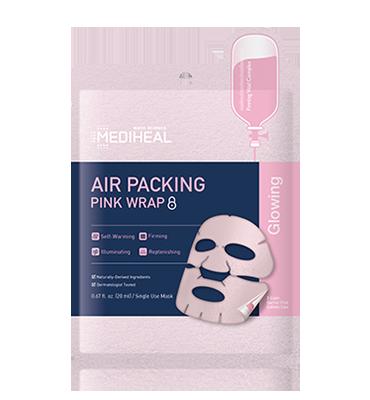MEDIHEAL Air Packing Pink Wrap Mask