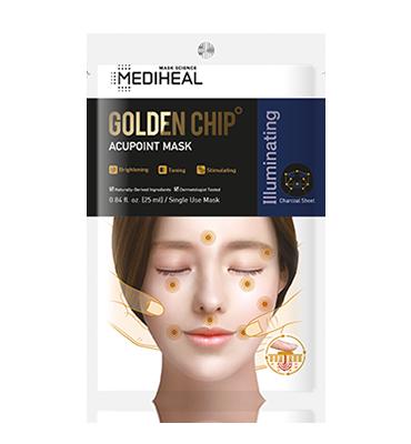 MEDIHEAL Golden Chip Acupoint Mask