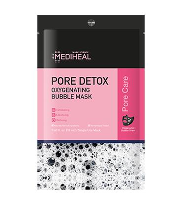 MEDIHEAL Pore Detox Oxygenating Bubble Mask