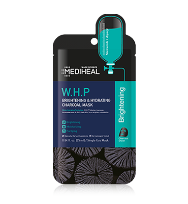 MEDIHEAL W.H.P Brightening & Hydrating Charcoal Mask