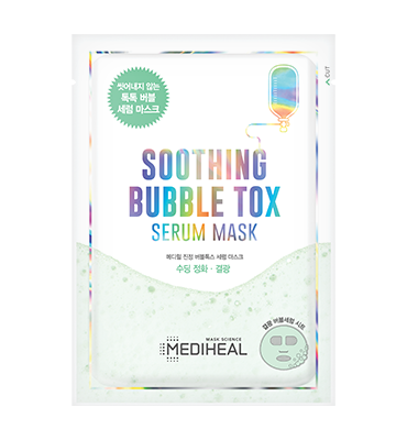 MEDIHEAL Soothing Bubble Tox Serum Mask