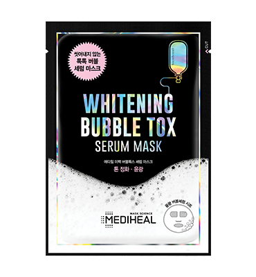 MEDIHEAL Whitening Bubble Tox Serum Mask